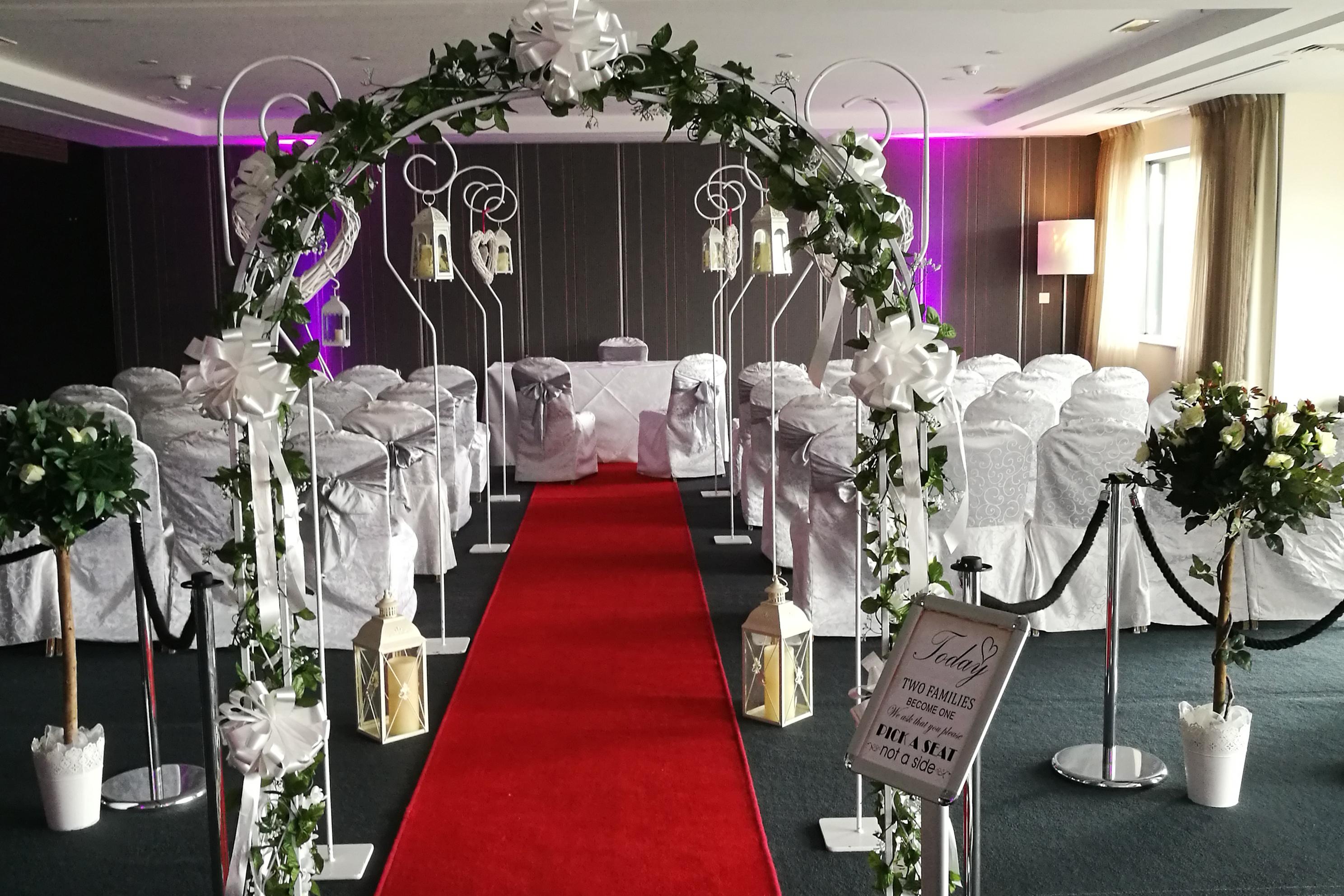 Wedding Dcor Hire Ireland Infinity Wedding Services