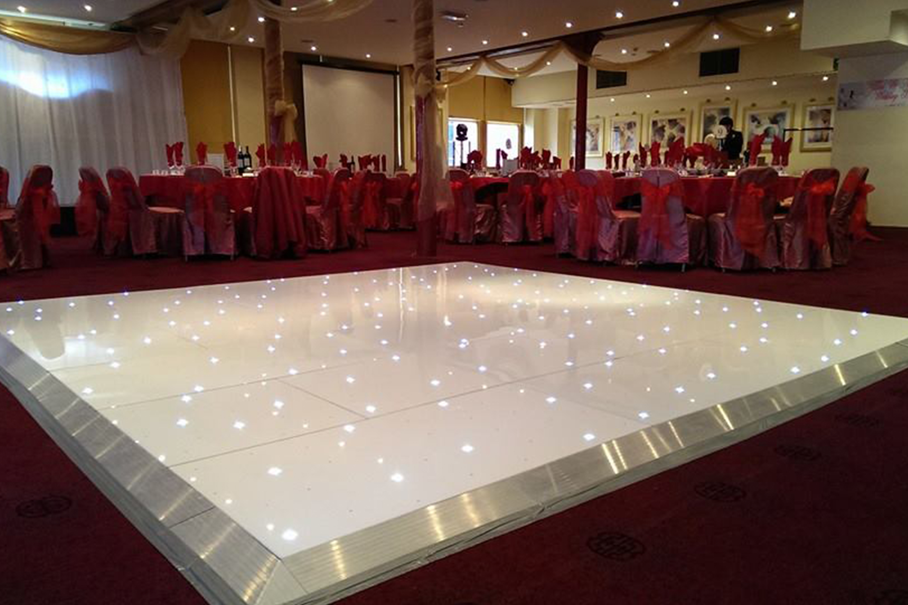Light up LED dance floor
